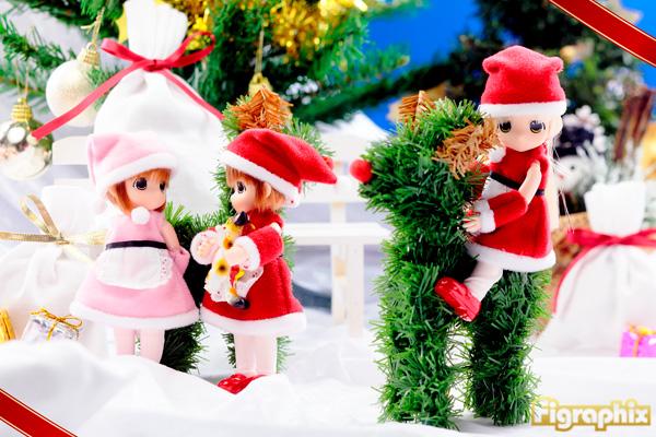 ママチャップトイ もこ クリスマス