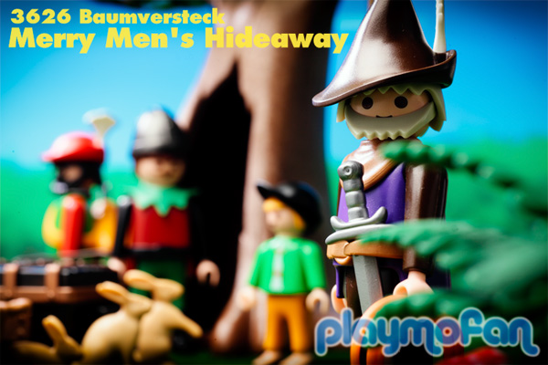 playmobil 3626 Merry Men's Hideaway