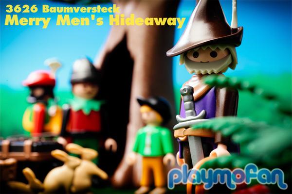playmobil 3626 Merry Men's Hideaway
