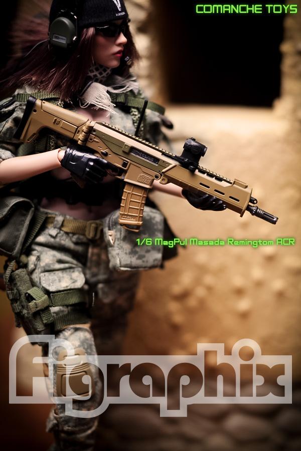 COMANCHE TOYS 1/6 MagPul Rifle Masada Remington Rifle ACR