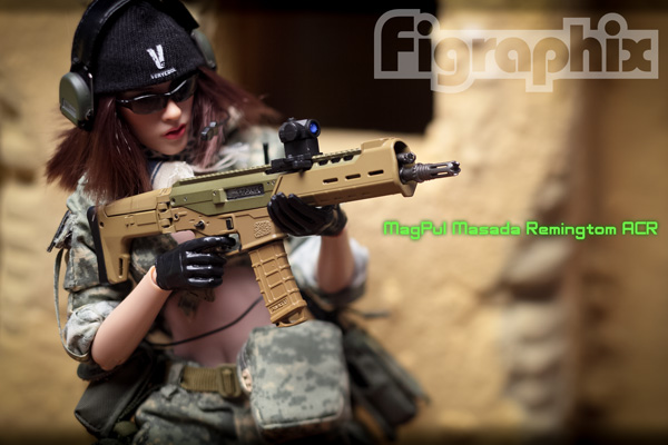 COMANCHE TOYS 1/6 MagPul Rifle Masada Remington Rifle ACR