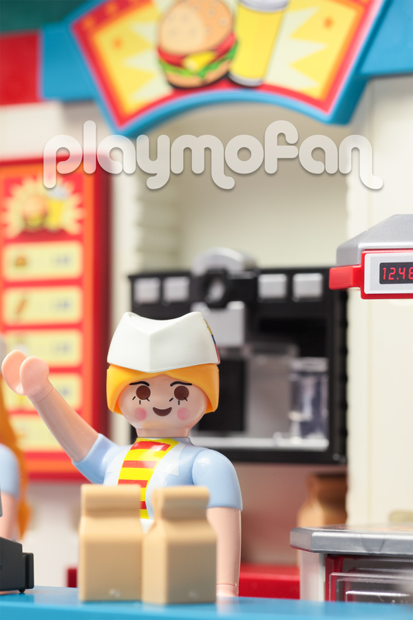 playmobil 6441 FastFoodRestraunt