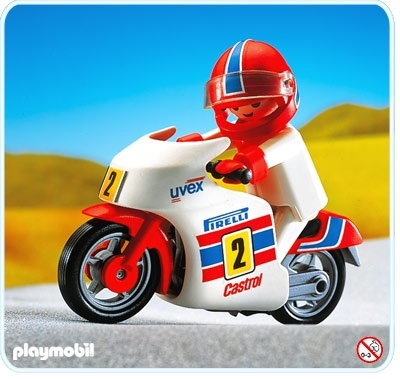 playmobil 3303 Racing Motorcycle