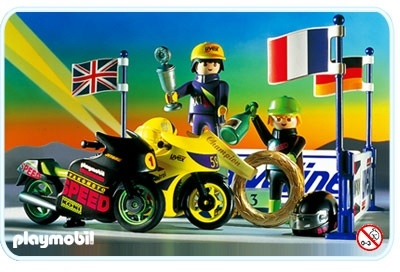 playmobil 3779 Victory Racing Motorcycles
