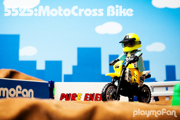 playmobil 5525 MotoCross Bike