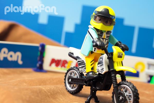 playmobil 5525 MotoCross Bike