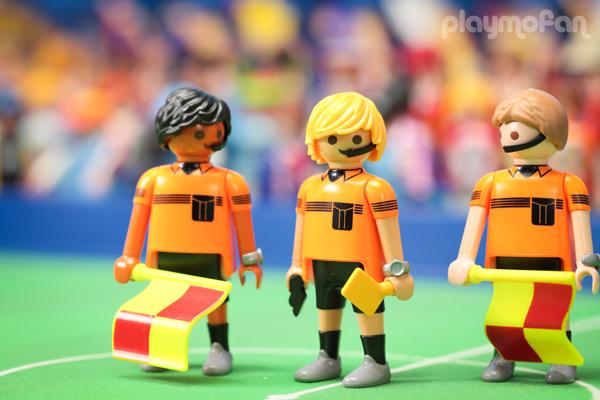 playmobil 6859 Football Referee Team