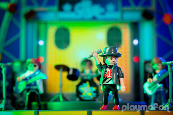 プレイモービル playmobil 5602 PopStars! Stage