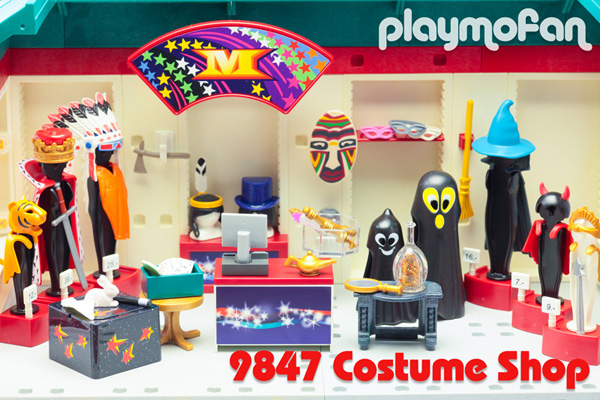 playmobil 9847 Costume Shop