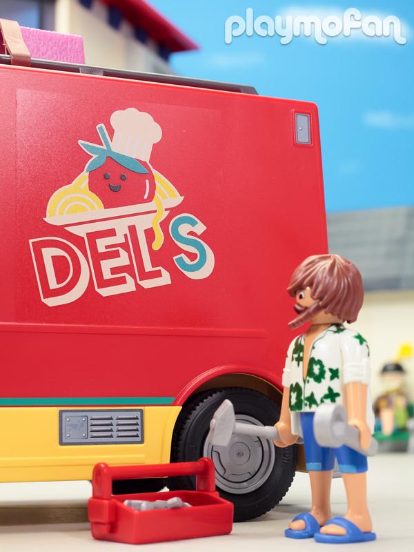 プレイモービル 70075 デルのフードトラック Del's Food Truck